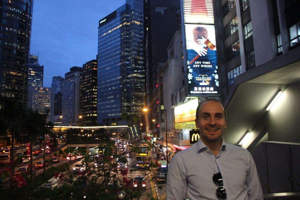 Hongkong China  Asien Urlaub Weltreise Reise