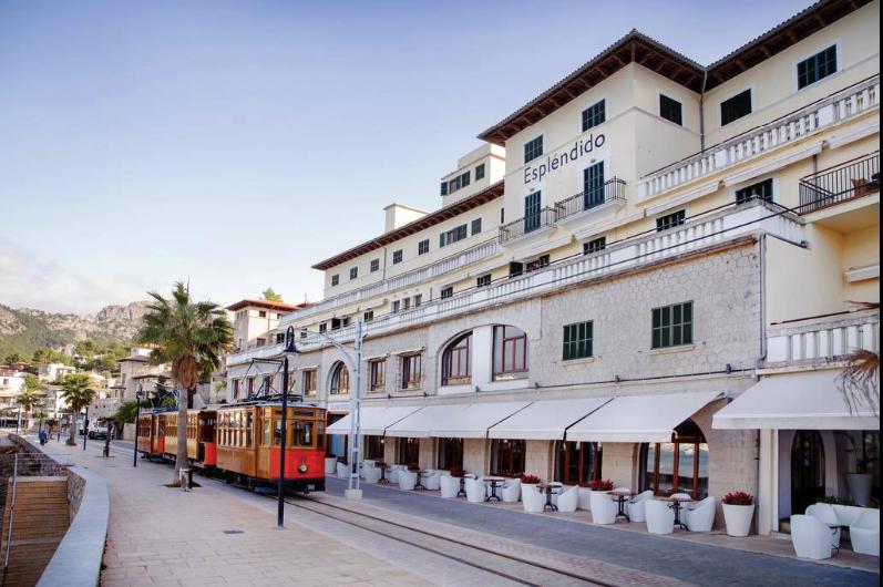 Esplendido Hotel in Port Soller - Ein tolles Hotel mit Blick auf die Bucht im Westen von Mallorca