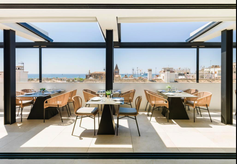 Hotel mit Ausblick über Palma de Mallorca