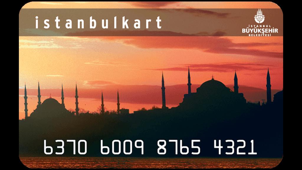 Istanbulkart Transportkarte öffentlicher Verkehr in Istanbul