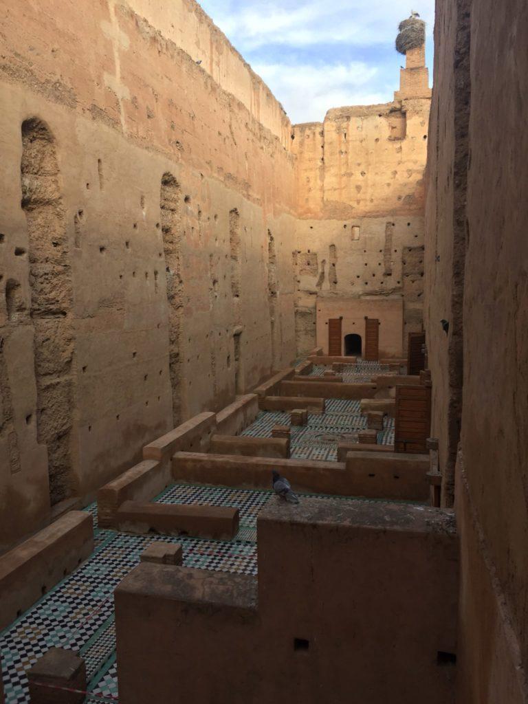 El Badi Palace Marrakesch Marokko