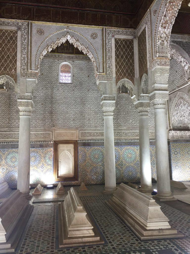 Koutoubia Moschee Saadier Gräber