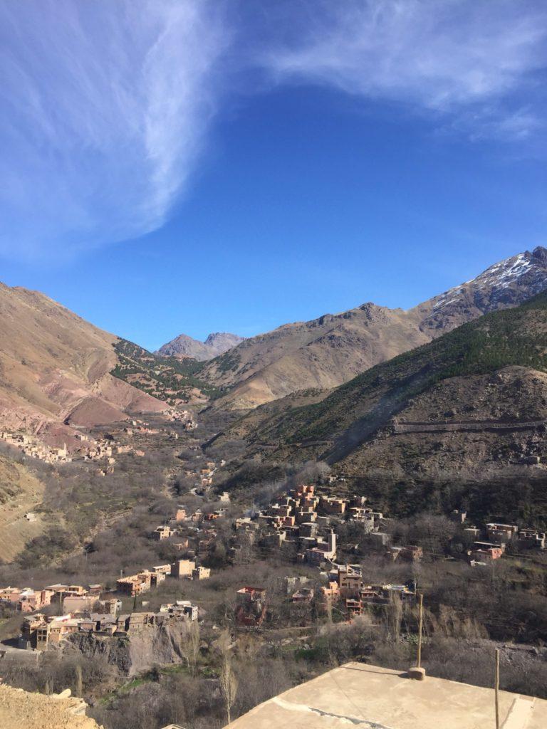 Ausflug in Atlas Gebirge