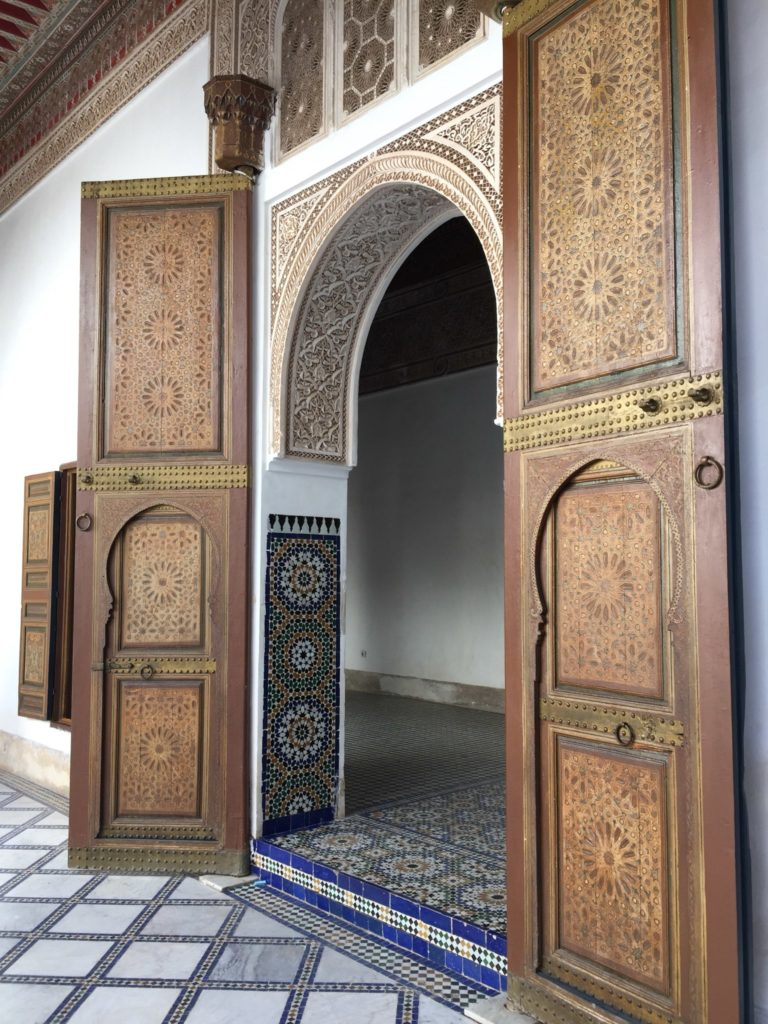 Bahia Palace Marrakesch Marokko