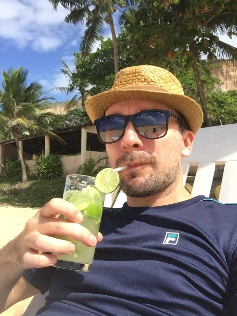 Brasilien Urlaub an der Entdecker-Küste Bahia in Arraial da Ajuda 8 Caipi