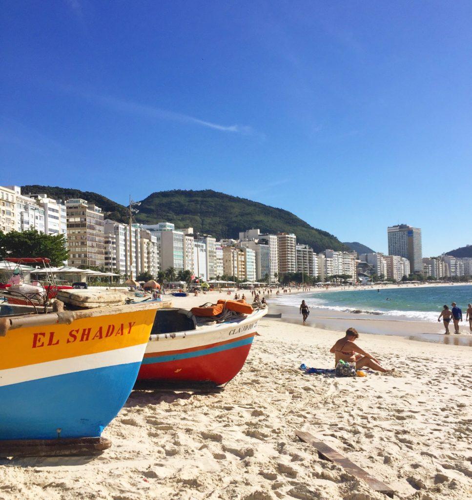 Schwimmen  Strand Rio de Janeiro Brasilien