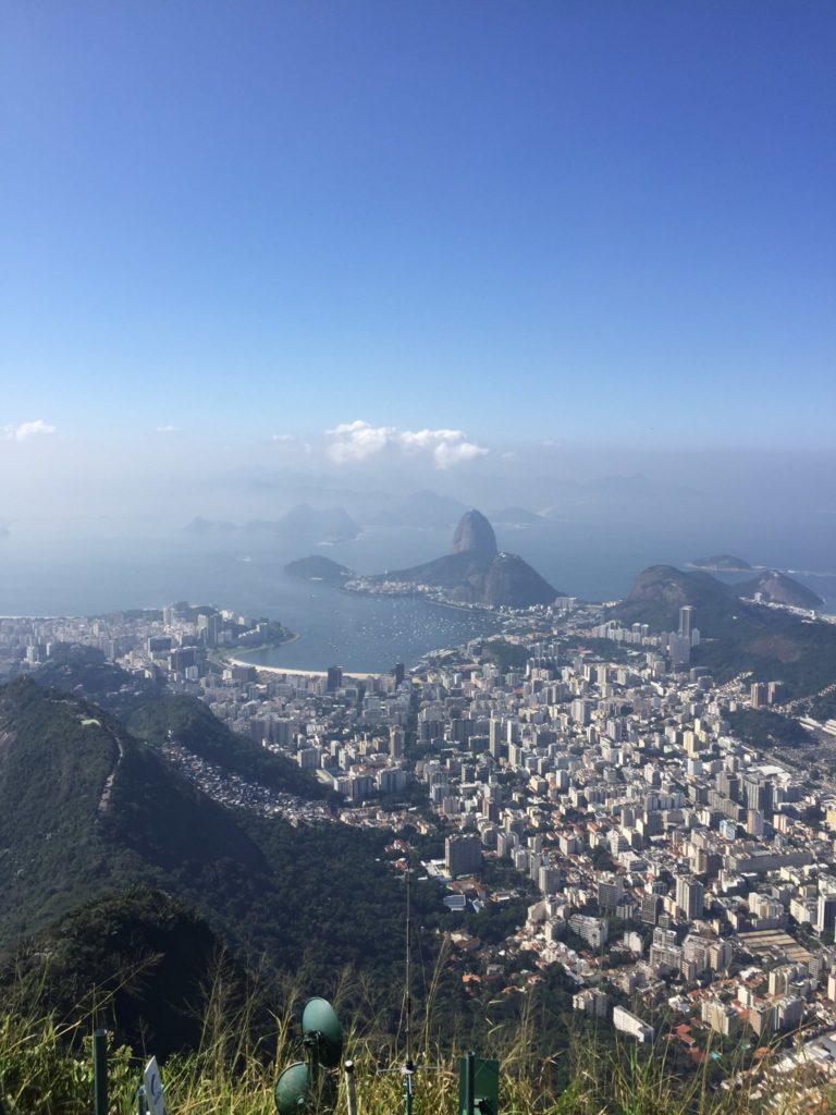 Rio de Janeiro Christusstatue Ausblick über Rio de Janeiro