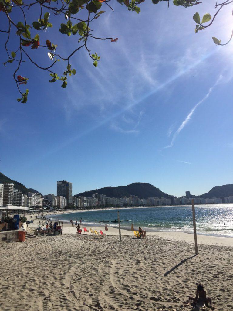 Copacabana  Rio de Janeiro Strand