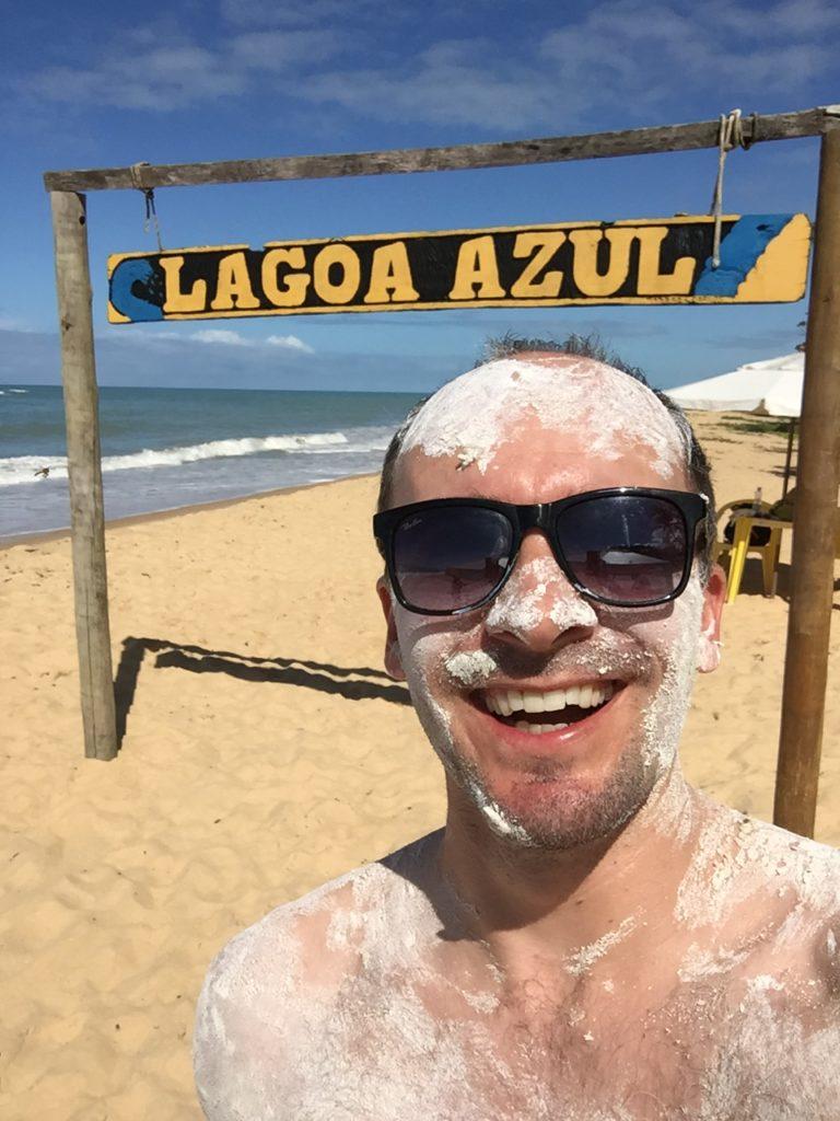Brasilien Urlaub an der Entdecker-Küste Bahia in Arraial da Ajuda 9 Marc Lagao Beach