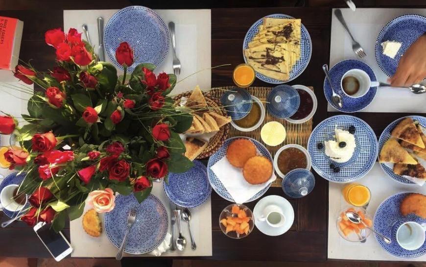 Frühstück Hotel Marrakesch