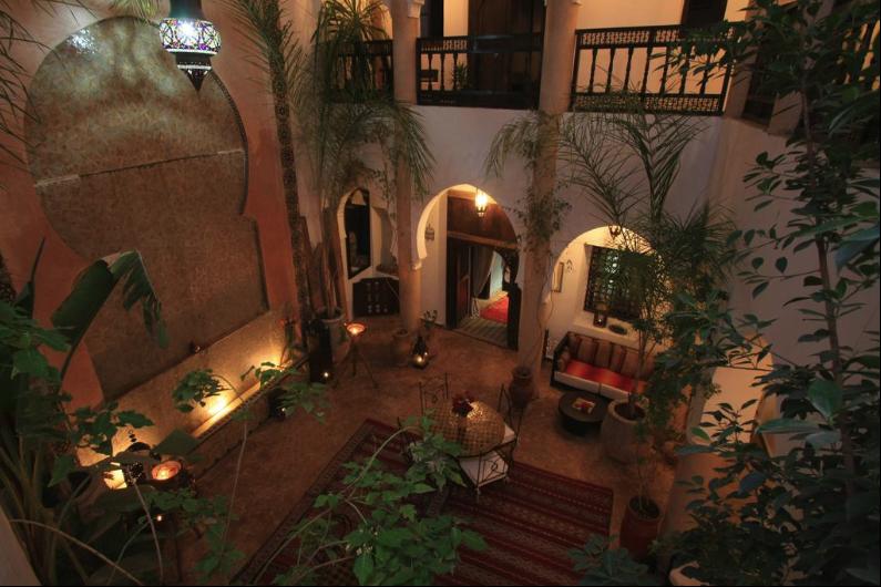 Riad Marrakesch Übernachtung