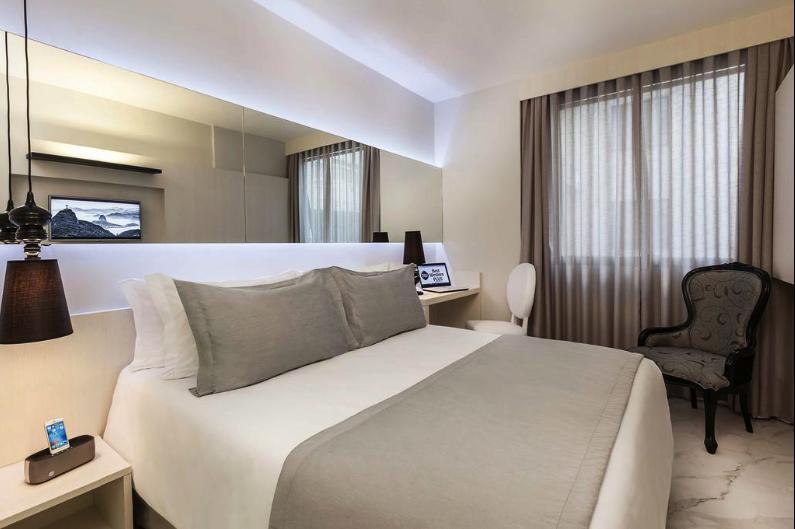 Einfaches gutes 3 Sterne Hotel Rio de Janeiro Copacabana