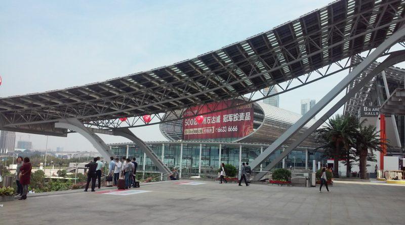 Eingang Kanton Messe Canton Fair