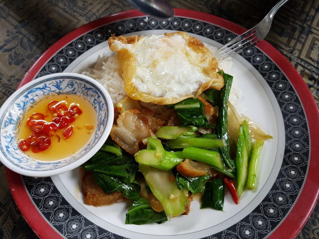 leckeres Essen in Bangkok Asien