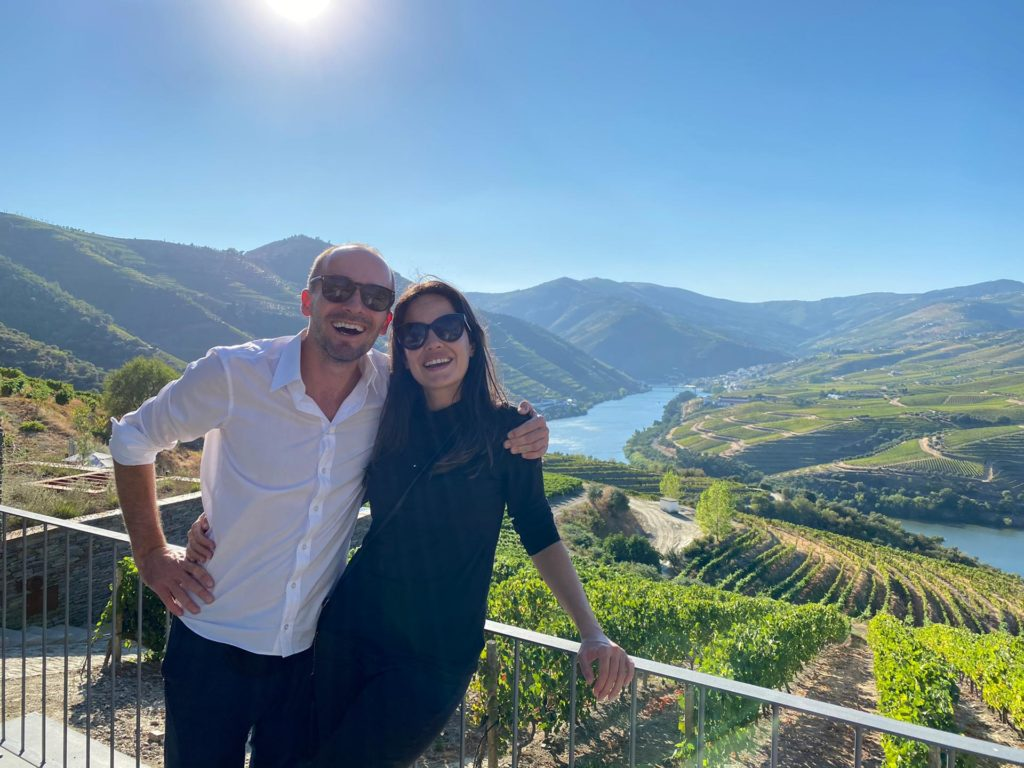 Mit einem Tesla durch das Douro Tal in Portugal zur Weinprobe 16 1