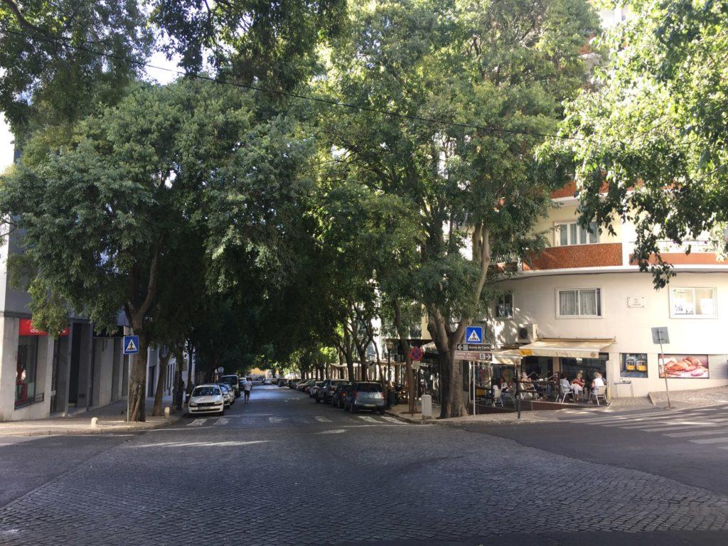 Alcantara Stadtteil zum Leben in Lissabon