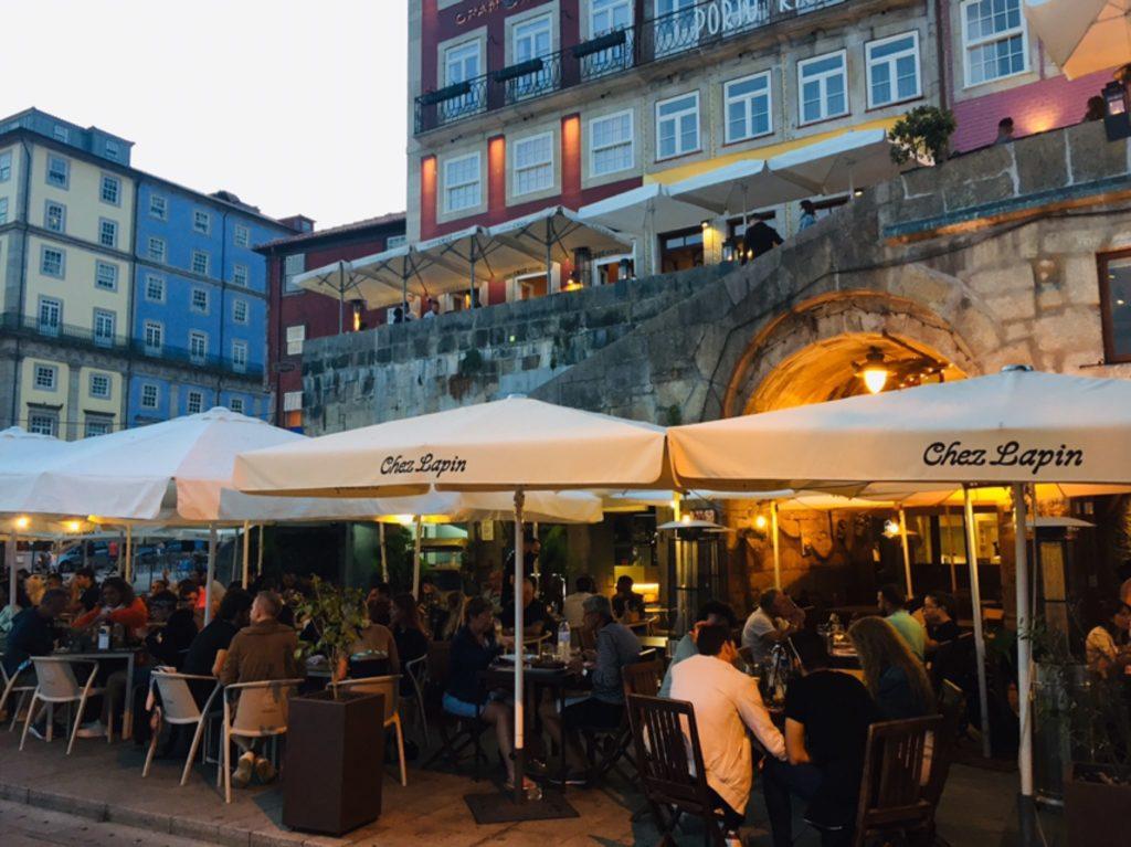 Abendstimmung Ribeira Porto
