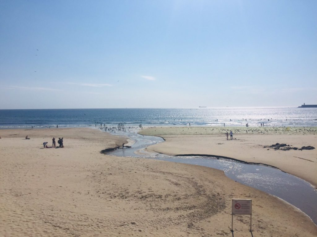 Matosinhos  Strand Urlaub Baden portugal Porto  Portugal