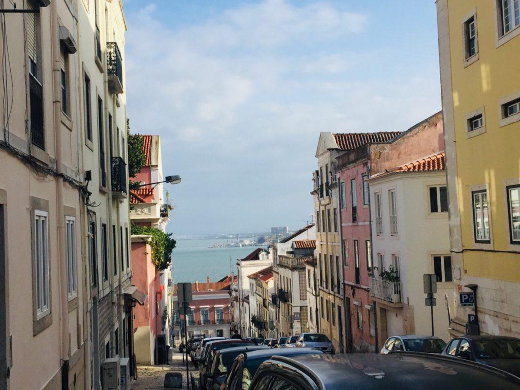 Estrela und Lapa - Leben in Lissabon 15 Blick Tejo Lissabon
