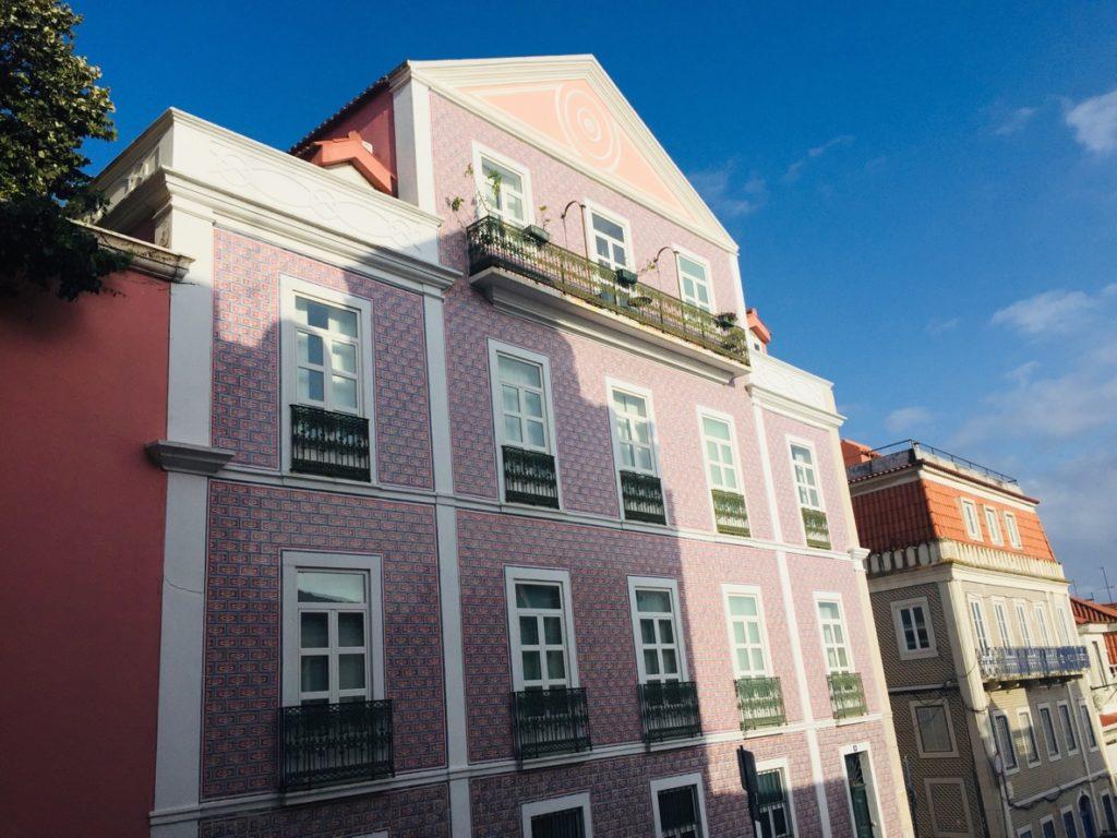 Estrela und Lapa - Leben in Lissabon 1 Estrela Haus 1