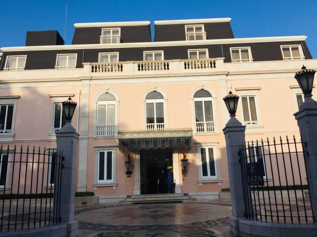 Estrela und Lapa - Leben in Lissabon 16 Hotel Lapa