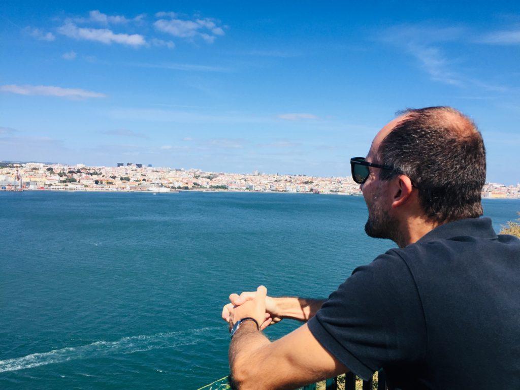 Lissabon Strand - Costa da Caparica - Baden in Lissabon 6 Lissabon Aussicht