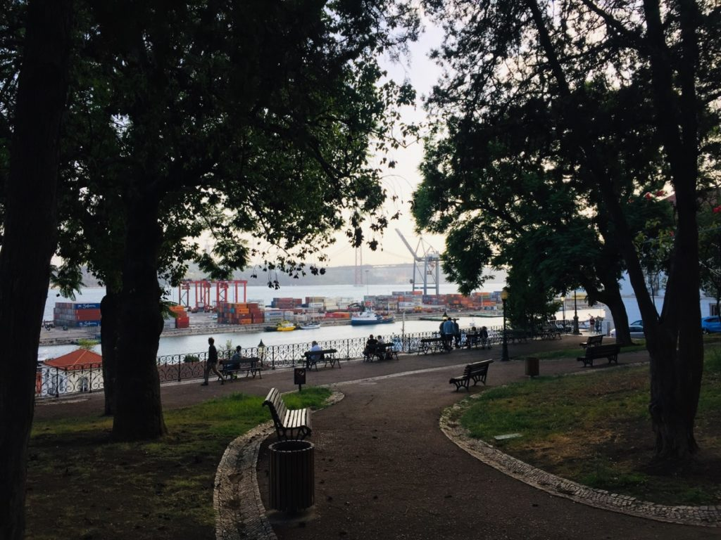 Estrela und Lapa - Leben in Lissabon 19 Park Lissabon