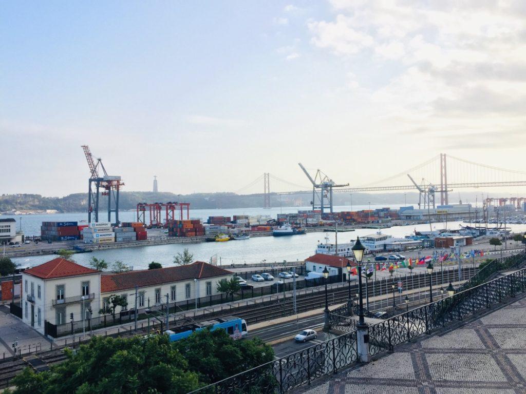 Estrela und Lapa - Leben in Lissabon 20 Sicht Lissabon