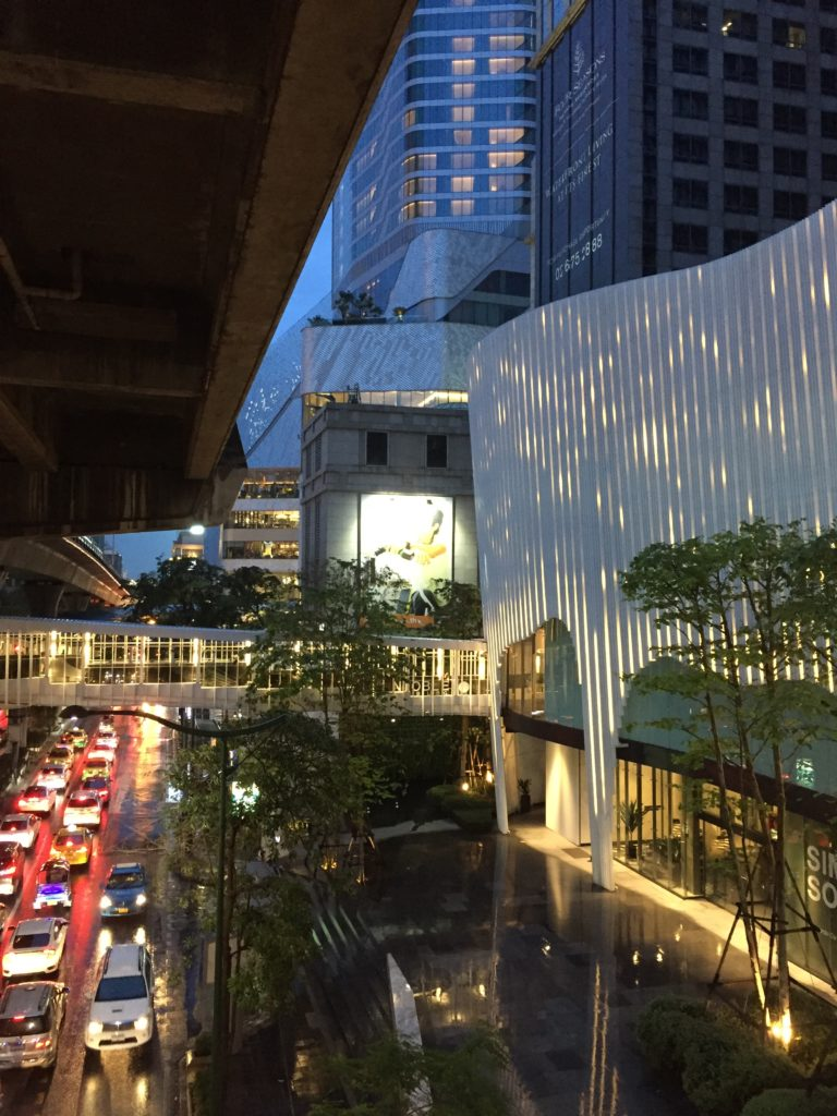 Straße Bangkok