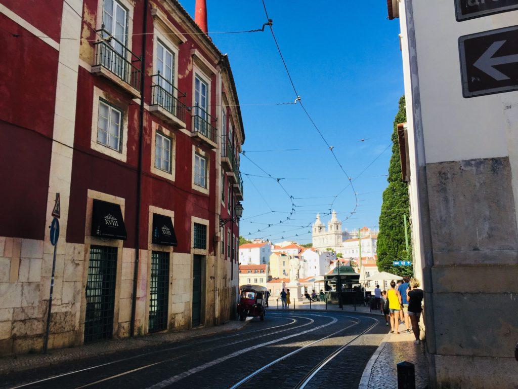 Straßen Alfama