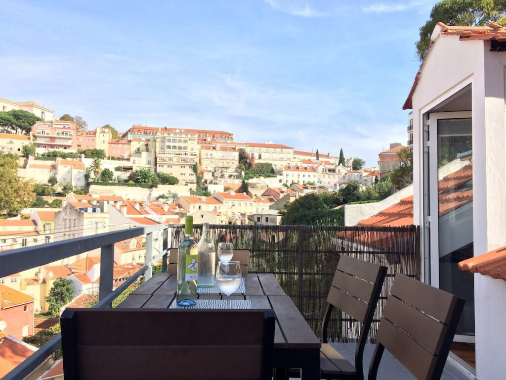 LEBEN ALS DIGITALER NOMADE IN LISSABON PORTUGAL 4 Airbnb Alfama