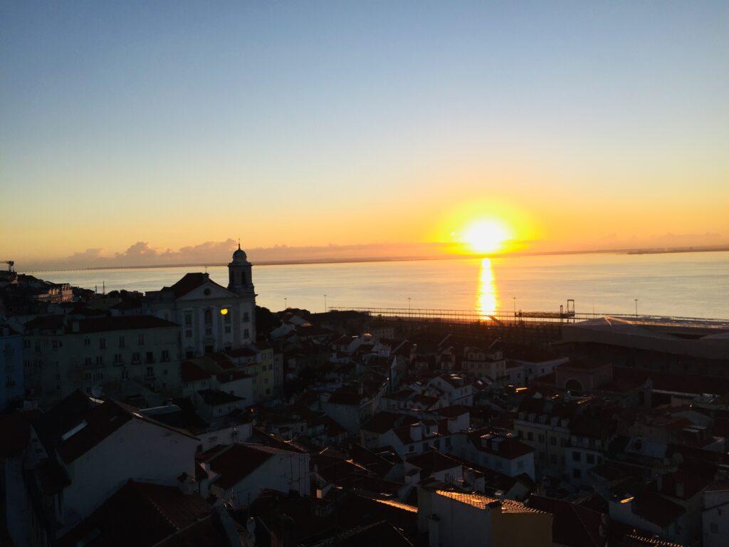 Lissabon in Portugal - Wie es fast keiner kennt 2 Alfama Guten Morgen