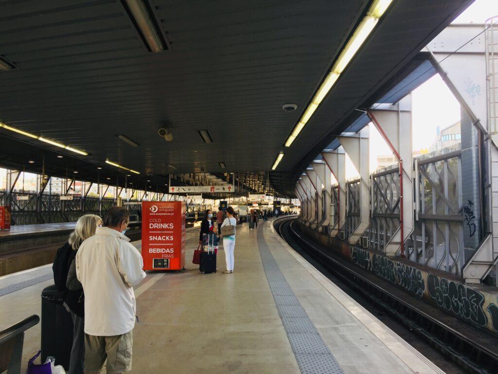 Von Lissabon an die Algarve mit dem Zug - Reisen in Portugal 1 Bahnhof Lissabon