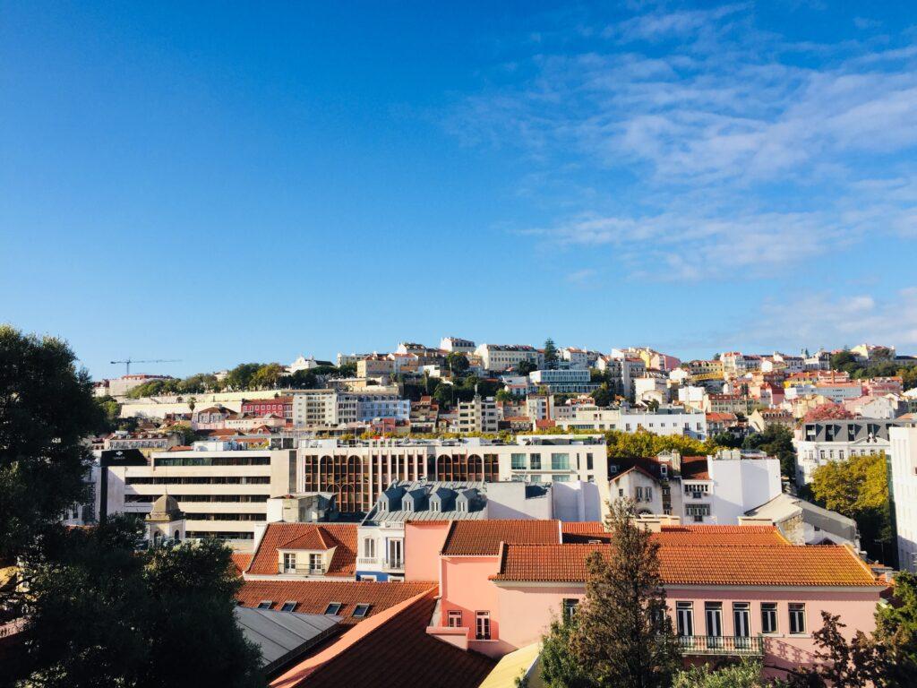 Lissabon in Portugal - Wie es fast keiner kennt 10 Blick auf Principe Real