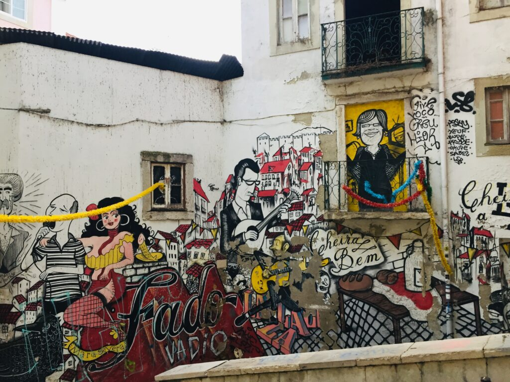 Streetart Lissabon - Stadt voller Straßenkunst, Graffiti 1 Lissabon Streetart 20
