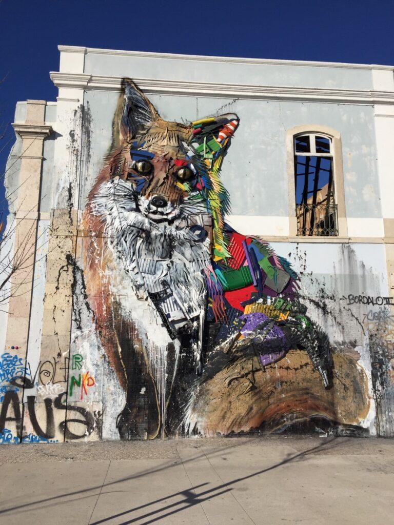 Streetart Lissabon - Stadt voller Straßenkunst, Graffiti 3 Streetart Lissabon 2