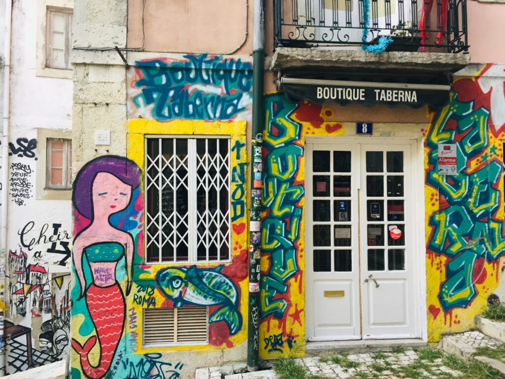Streetart Lissabon - Stadt voller Straßenkunst, Graffiti 2 Streetart Lissabon 21