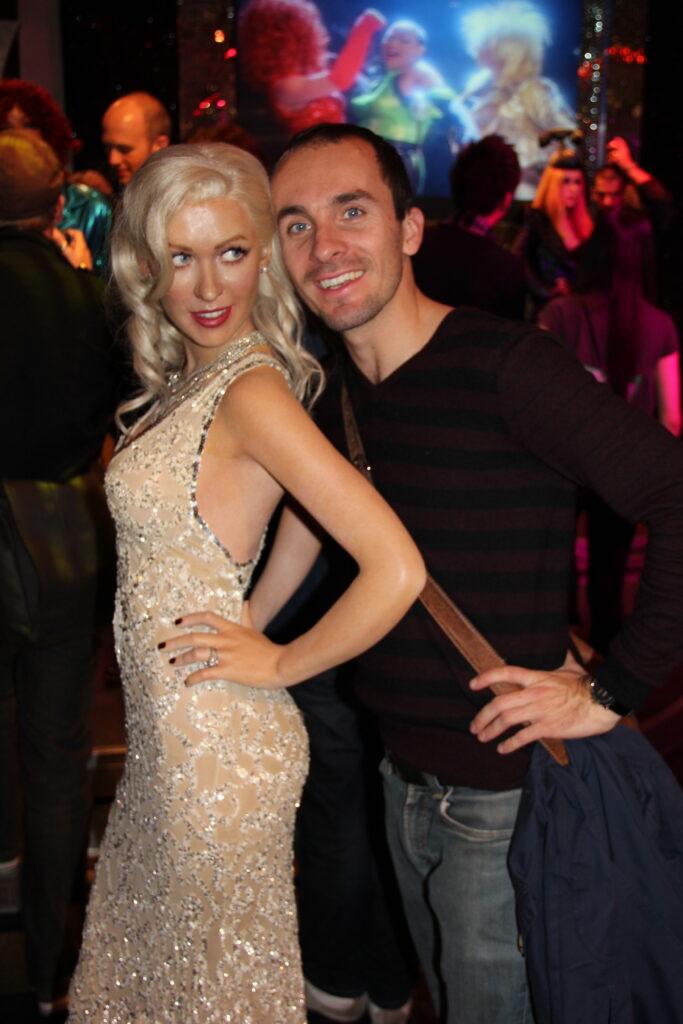 Christina Aguilera London